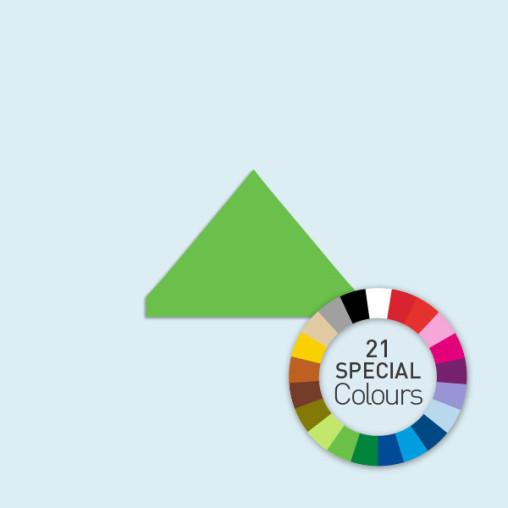 Zeltdach für Faltzelte Compact 2,5 m, in 21 Sonderfarben erhältlich