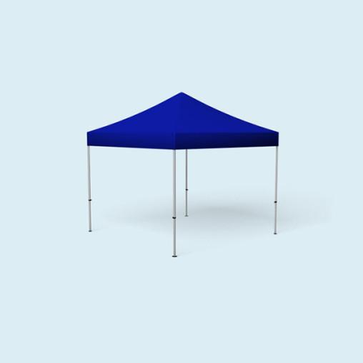Faltpavillon Select, 3 x 3 m, blau