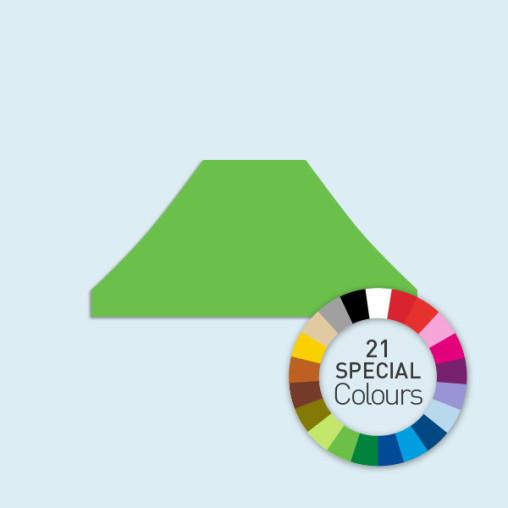Zeltdach für Faltzelte Basic & Select 4 x 6 m, in 21 Sonderfarben erhältlich