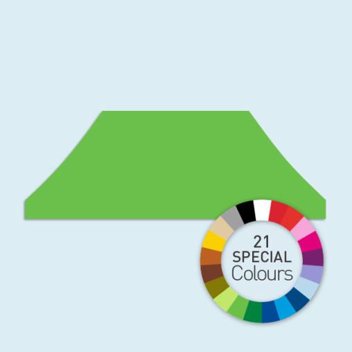 Zeltdach für Faltzelte Basic & Select 4 x 8 m, in 21 Sonderfarben erhältlich
