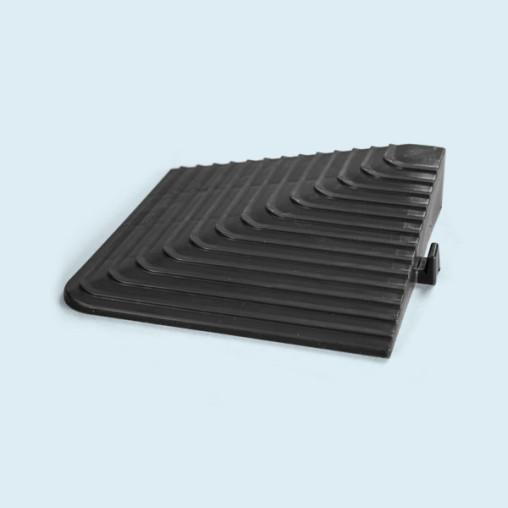 Ecke für Bodenplatte, belastbar bis 130.000 kg/m²