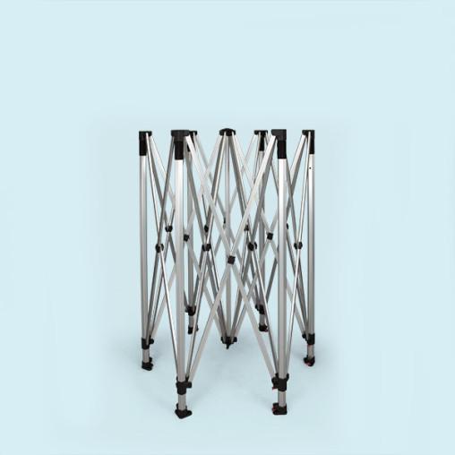 Gestell Faltpavillon / Faltzelt Hexagon 3 m