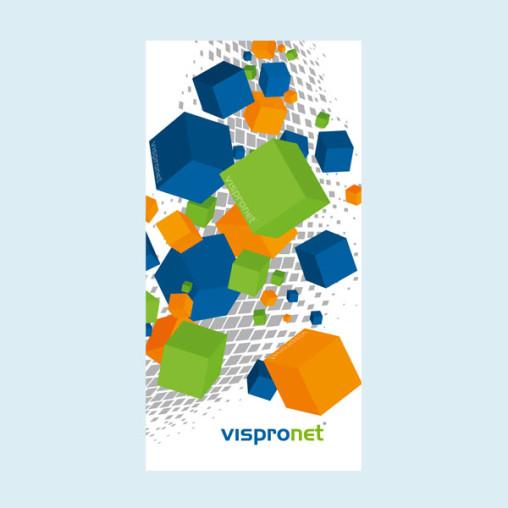 Werbebanner, PVC-Banner Basic im Hochformat