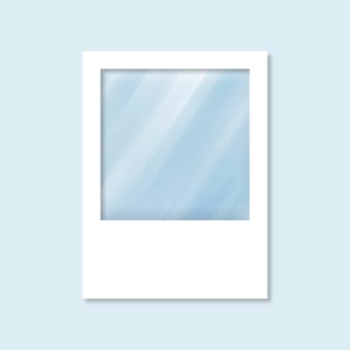 Wand Hexagon mit Panoramafenster, weiß, ohne Druck, 150 x 200 cm