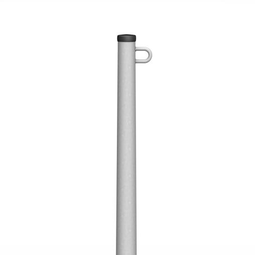 Transparentmast T-K-BASIC, ohne Hissvorrichtung, Mastkopf