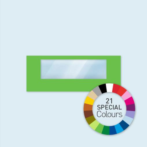 Wand m. 1 Panoramafenster 600 x 220 cm Select, in 21 Sonderfarben erhältlich