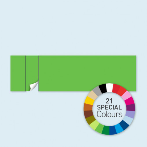 Wand mit 1 Tür links 800 x 220 cm Select, in 21 Sonderfarben erhältlich