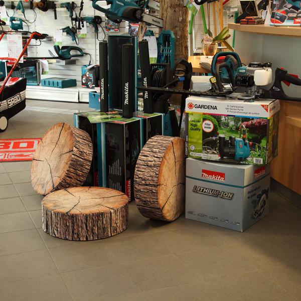 runde sitzkissen runde stuhlkissen selbst gestalten. Black Bedroom Furniture Sets. Home Design Ideas