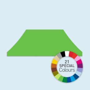Zeltdach für Faltzelte Basic & Select 3 x 6 m, in 21 Sonderfarben erhältlich