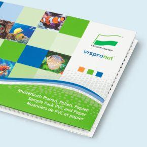 Musterbuch Planen, Folien, Papier