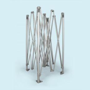 Gestell Faltpavillon / Faltzelt Select 4 x 4 m