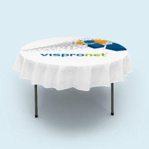 Tischdecken kurz für Klapptisch rund