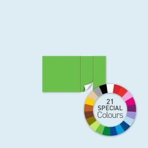 Wand mit 1 Tür rechts Select 400 x 220 cm, in Sonderfarben, Seitenkanten mit Befestigungsschlaufen