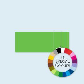 Wand mit 1 Tür rechts Select 600 x 220 cm, in Sonderfarben, Seitenkanten mit Befestigungsschlaufen
