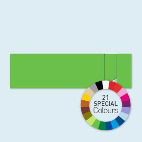 Wand mit 1 Tür rechts Select 800 x 220 cm, in Sonderfarben, Seitenkanten mit Befestigungsschlaufen