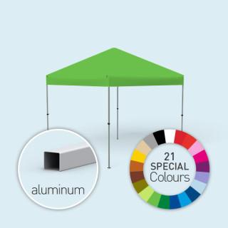 Faltpavillon Compact, in 21 Sonderfarben erhätlich