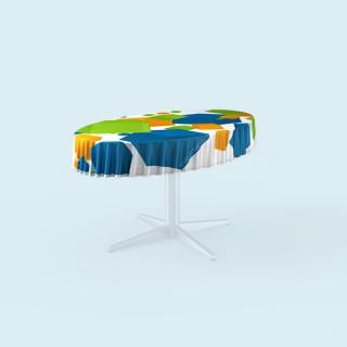 Tischdecken für ovale Tische