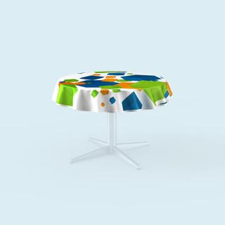 Tischdecken für runde Tische