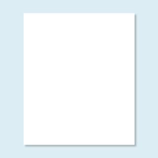Vollwand Hexagon, weiß, ohne Druck, Größe 200 x 235 cm