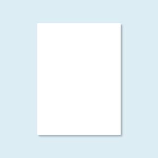 Vollwand Hexagon, weiß, ohne Druck, Größe 150 x 200 cm