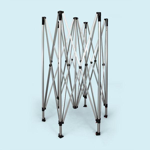 gestell faltpavillon faltzelt hexagon 4 m zeltgestelle f r faltzelte zubeh r faltzelt. Black Bedroom Furniture Sets. Home Design Ideas