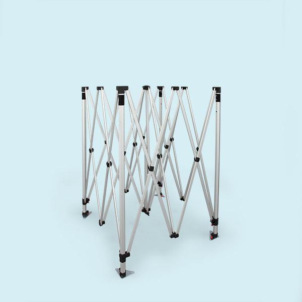gestell faltpavillon faltzelt select 3 x 3 m zeltgestelle f r faltzelte zubeh r faltzelt. Black Bedroom Furniture Sets. Home Design Ideas
