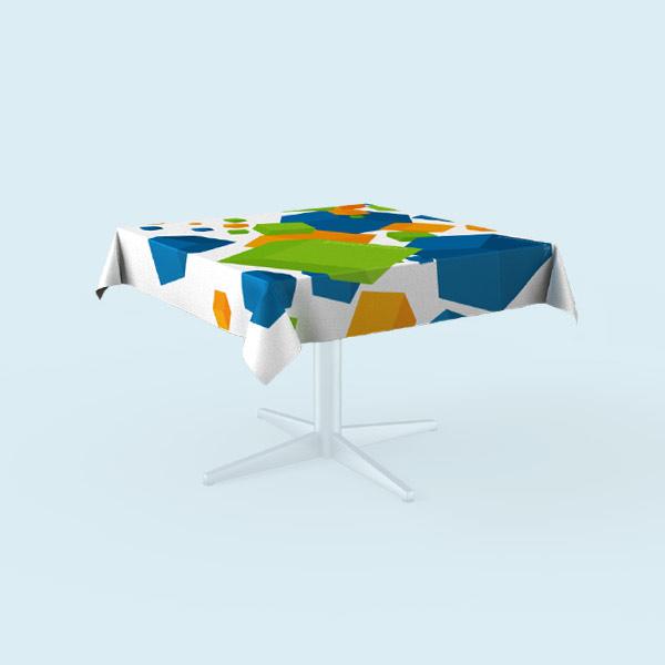 quadratische tischdecken online selbst gestalten bedrucken. Black Bedroom Furniture Sets. Home Design Ideas