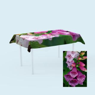 Tischdecken für Tische,  100 x 180 cm - Blume