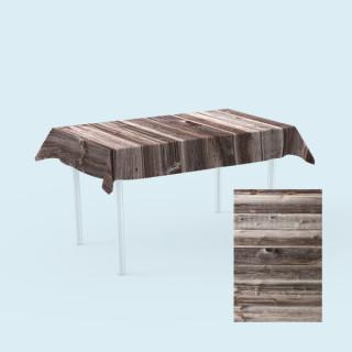 Tischdecken für Tische,  100 x 180 cm - Holz