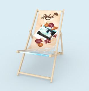 Liegestuhl ohne Armlehne - Relax