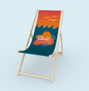 Liegestuhl ohne Armlehne - Summer