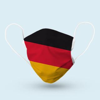 Mund-Nasen-Schutz, 17 x 9 cm - Deutschland
