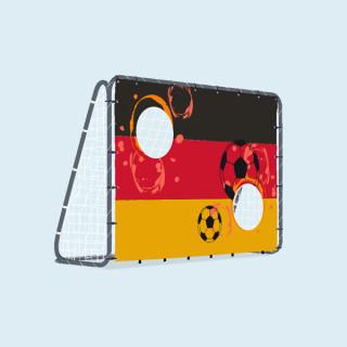 Fußballtor mit Torwand, 200 x 142 cm - Deutschland